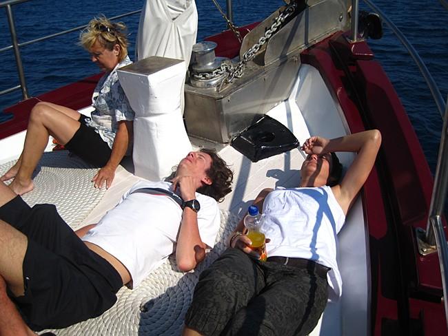 Lodní deník: Kvarnerská plavba (Chorvatsko na kole)